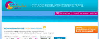 Cyclades Reservation Center & Travel, Paros