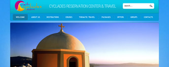 Cyclades Reservation Center and Travel, Paros, Cyclades